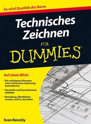 Technisches Zeichnen fuer Dummies
