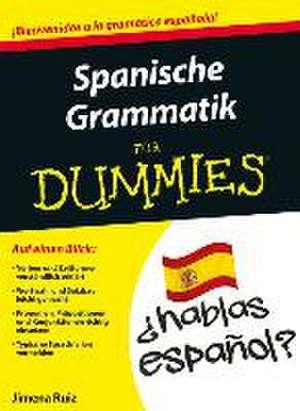 Spanische Grammatik fur Dummies