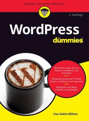 WordPress für Dummies de Lisa Sabin–Wilson
