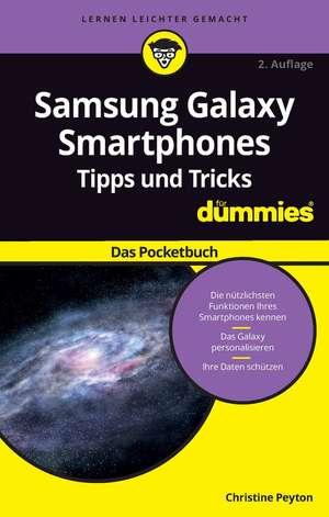 Samsung Galaxy Smartphone Tipps und Tricks fur Dummies