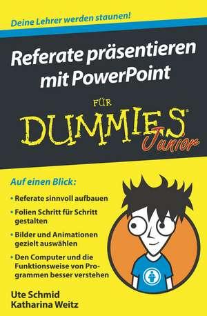 Referate praesentieren mit PowerPoint fuer Dummies Junior