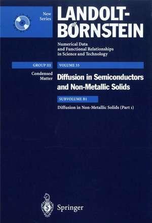 Diffusion in Non-Metallic Solids without Volume Diffusion in Oxides de C.E. Allen