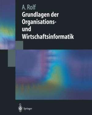 Grundlagen der Organisations-und Wirtschaftsinformatik de Arno Rolf