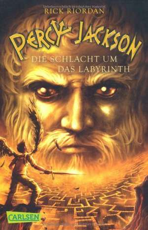 Percy Jackson 04. Die Schlacht um das Labyrinth de Rick Riordan