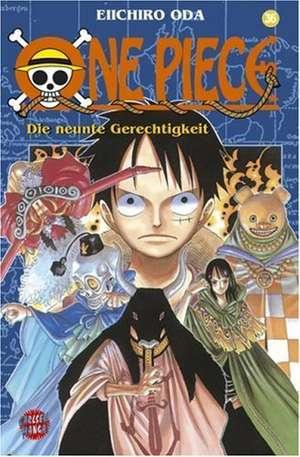 One Piece 36. Die neunte Gerechtigkeit de Eiichiro Oda