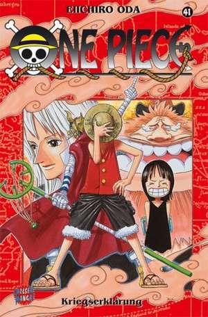 One Piece 41. Kriegserklärung de Eiichiro Oda