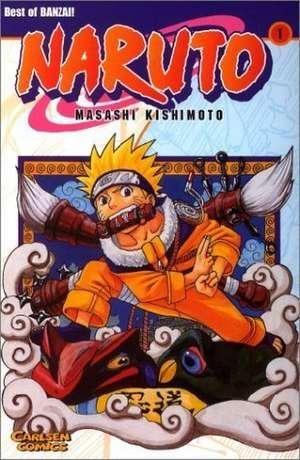 Naruto 01 de Masashi Kishimoto