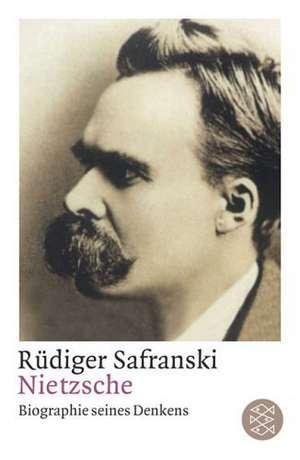 Nietzsche de Rüdiger Safranski