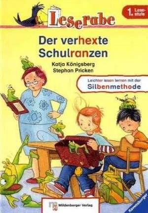 Leserabe - Der verhexte Schulranzen