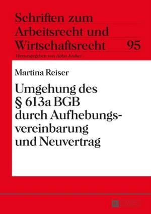 Umgehung Des 613a Bgb Durch Aufhebungsvereinbarung Und Neuvertrag:  Der Kommentar Zum Ersten Buch Der Elegien Des Properz de Martina Reiser