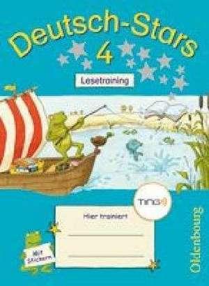 Deutsch-Stars 4. Schuljahr. Lesetraining. Ting-Ausgabe