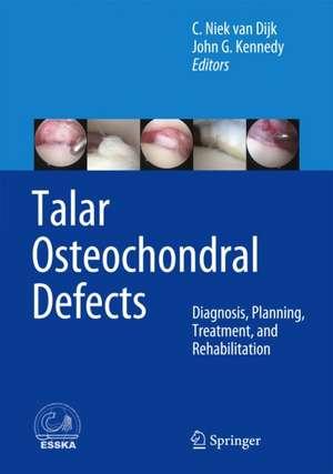 Talar Osteochondral Defects