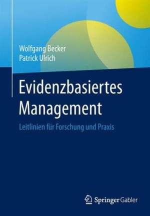 Evidenzbasiertes Management