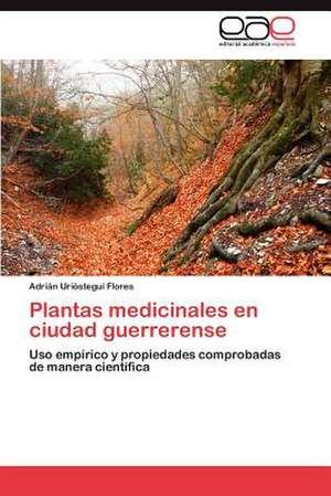 Plantas Medicinales En Ciudad Guerrerense