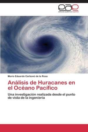 Análisis de Huracanes en el Océano Pacífico de Carbonó de la Rosa Mario Eduardo