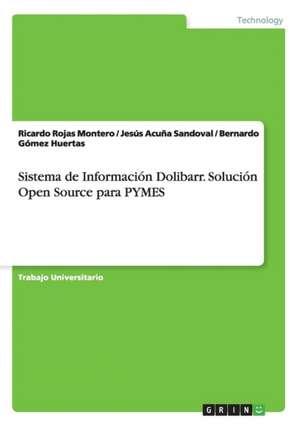 Sistema de Información Dolibarr. Solución Open Source para PYMES de Jesús Acuña Sandoval
