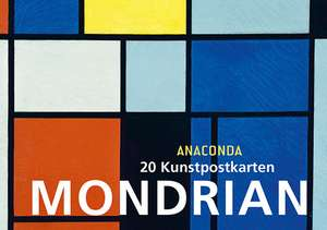 Colectie de carti postale Piet Mondrian