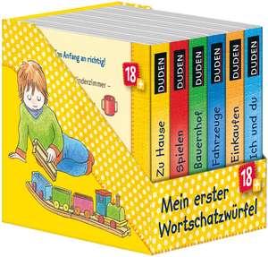 Duden: Mein erster Wortschatzwürfel de Katja Schmiedeskamp