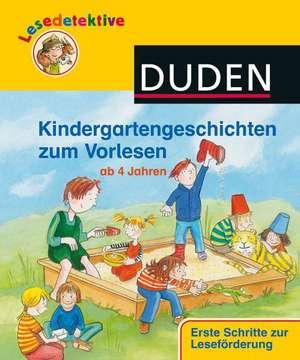 Lesedetektive Kindergartengeschichten zum Vorlesen