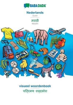 BABADADA, Nederlands - Marathi (in devanagari script), visueel woordenboek - visual dictionary (in devanagari script) de  Babadada Gmbh