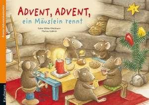 Advent, Advent, ein Maeuslein rennt