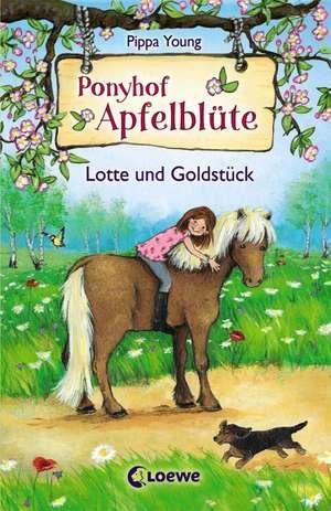 Ponyhof Apfelbluete 03. Lotte und Goldstueck