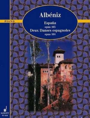 España / Deux Danses espagnoles de Isaac Albéniz