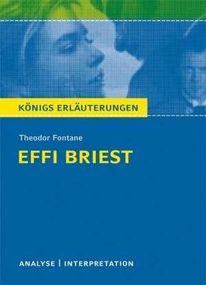 Textanalyse und Interpretation zu Theodor Fontane. Effi Briest