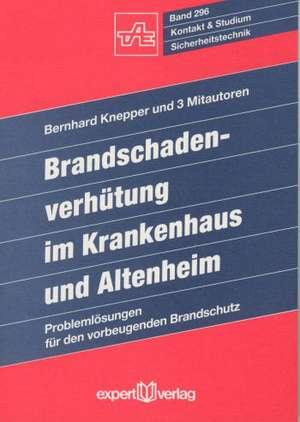Brandschadenverhütung de Bernhard Knepper