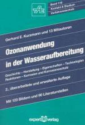 Ozonanwendung in der Wasseraufbereitung de Gerhard E Kurzmann