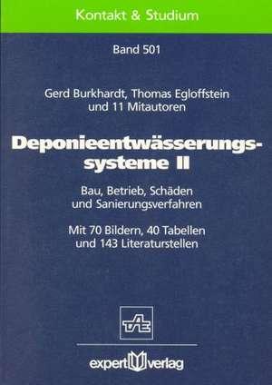 Deponieentwässerungssysteme II