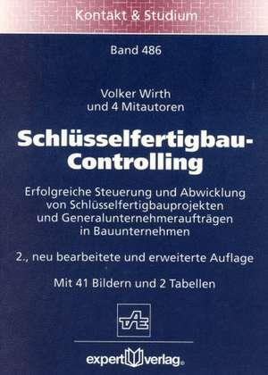 Schlüsselfertigbau-Controlling de Volker Wirth