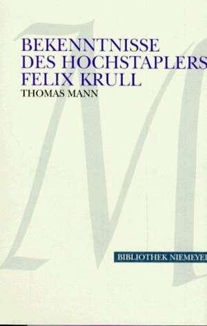 Bekenntnisse des Hochstaplers Felix Krull. Grossdruck
