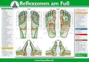 Reflexzonen am Fuß (2 Tafeln A4) de Hanne Marquardt