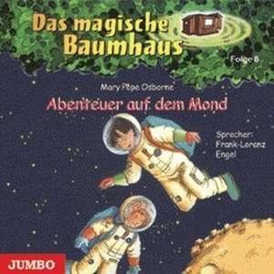 Das magische Baumhaus 08. Abenteuer auf dem Mond. CD
