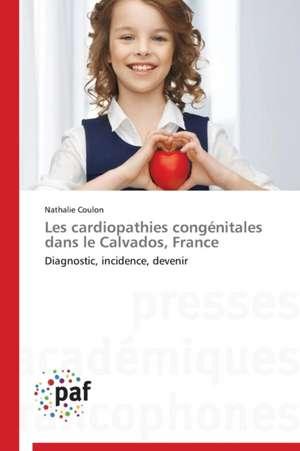 Les cardiopathies congenitales dans le Calvados, France