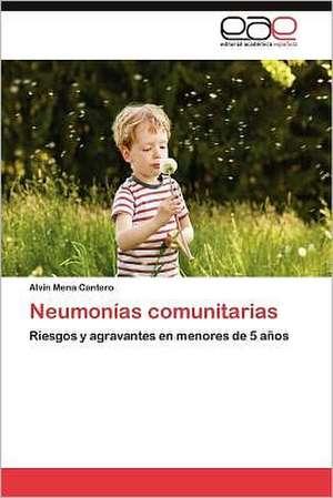 Neumonias Comunitarias