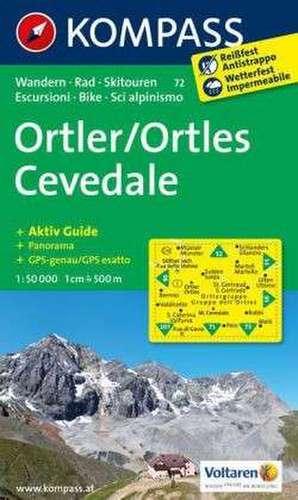 Ortler / Ortles Cevedale 1 : 50 000