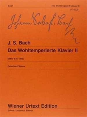 Das Wohltemperierte Klavier 2 de Johann Sebastian Bach