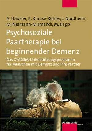 Psychosoziale Paartherapie bei beginnender Demenz