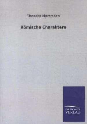 Roemische Charaktere