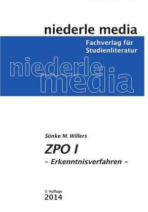 ZPO 1 de Sönke M. Willers
