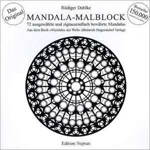 Mandala-Malblock