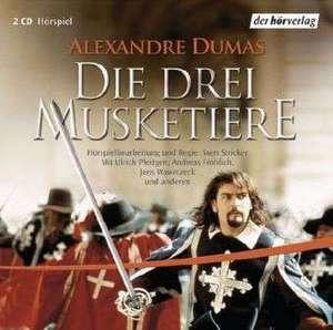Die drei Musketiere. 2 CDs de Alexandre Dumas