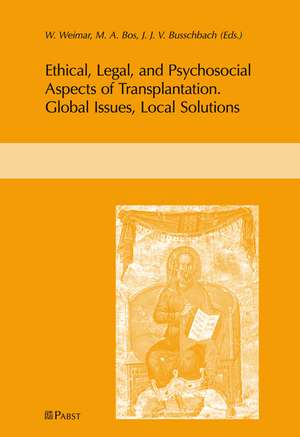 Ethical, Legal, and Psychosocial Aspects of Transplantation