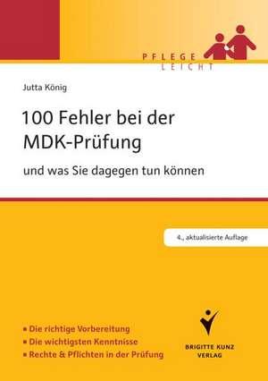 100 Fehler bei der MDK-Pruefung