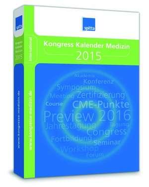 Kongress Kalender Medizin 2015