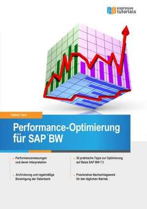 Performance-Optimierung für SAP BW de Helmut Tack