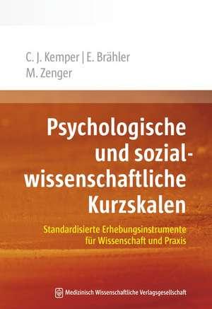 Psychologische und sozialwissenschaftliche Kurzskalen