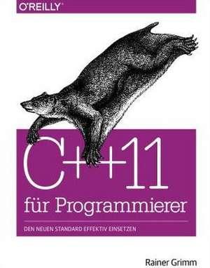 C++11 für Programmierer de Rainer Grimm